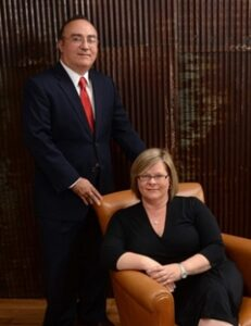 Attorneys Bobby and Allison Khan
